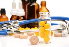 Subjects for treatment of illness Stock Photo