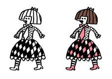 Subkultury lolita & Zdjęcia Royalty Free