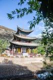 Subliem Zwart Dragon Pool is droog in LiJiang royalty-vrije stock afbeelding