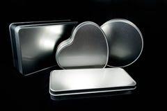 Sublimationsdruck des Metallentwarf kasten gemachter bereifter Eisenblattfreien raumes in unterschiedlichem Formen Thema für die  Stockfoto