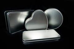 Sublimationsdruck des Metallentwarf kasten gemachter bereifter Eisenblattfreien raumes in unterschiedlichem Formen Thema für die  Lizenzfreies Stockfoto