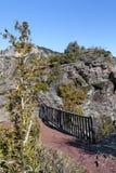 The sublime point Gorges de Daluis, france Royalty Free Stock Photos