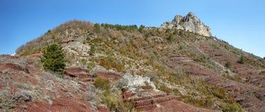 The sublime point Gorges de Daluis, france Royalty Free Stock Photo