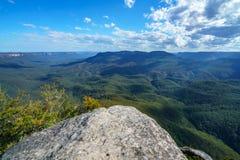 Sublime point lookout, blue mountains, australia 5. View from sublime point lookout, blue mountains national park, australia royalty free stock photos