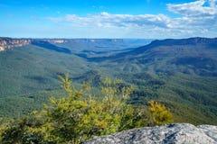 Sublime point lookout, blue mountains, australia 6. View from sublime point lookout, blue mountains national park, australia royalty free stock images