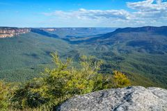 Sublime point lookout, blue mountains, australia 7. View from sublime point lookout, blue mountains national park, australia stock photos