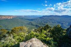 Sublime point lookout, blue mountains, australia 12. View from sublime point lookout, blue mountains national park, australia royalty free stock photos