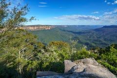 Sublime point lookout, blue mountains, australia 11. View from sublime point lookout, blue mountains national park, australia stock photos