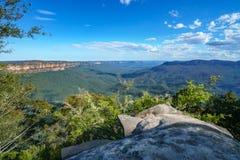 Sublime point lookout, blue mountains, australia 10. View from sublime point lookout, blue mountains national park, australia stock image