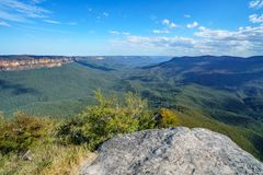 Sublime point lookout, blue mountains, australia 4. View from sublime point lookout, blue mountains national park, australia stock photos