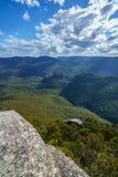 Sublime point lookout, blue mountains, australia 1. View from sublime point lookout, blue mountains national park, australia stock photos
