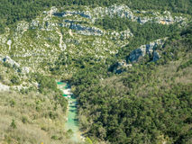 Sublime point viewpoint in France Stock Photo
