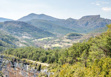 Sublime point viewpoint in France Royalty Free Stock Images