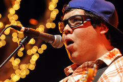 Sublime with Rome Ramirez peforming live. Royalty Free Stock Images