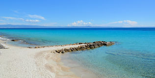 Sublime transparent turquoise waters of the Mediterranean Sea on Stock Photos