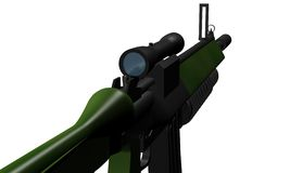 submachine пушки иллюстрация штока