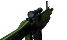 枪submachine 免版税库存图片