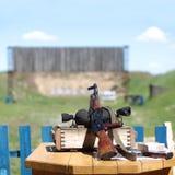 Submachine gun Royalty Free Stock Photo
