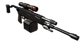 Submachine gun Stock Photo