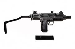 Submachine Gun isolated. Stock Image