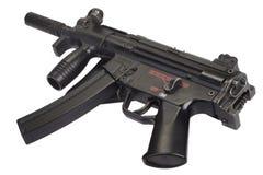 Submachine gun MP5 isolated Royalty Free Stock Photos