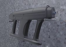 Submachine gun AM-2 picture 1 Stock Images
