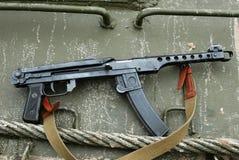 Submachine Gun PPS-43. Royalty Free Stock Image