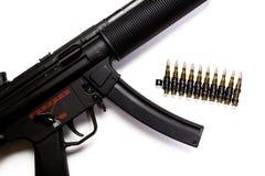 Submachine gun Royalty Free Stock Photos