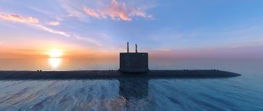 submarine стоковое изображение