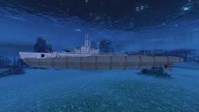 submarine стоковая фотография