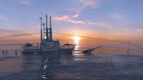 submarine стоковое фото rf