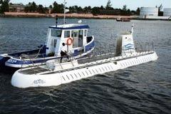 Submarine atlantis Stock Photos