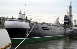 Submarine B-413 in Kaliningrad, Russia. Royalty Free Stock Photography