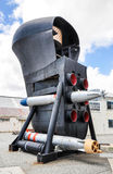 Submarine Bow: Torpedo Tubes and Sonar Dome Royalty Free Stock Photos