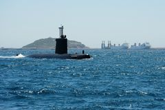 Submarine royalty free stock photos
