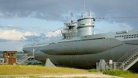 Submarine in City Kiel Laboe - Germany Stock Photography