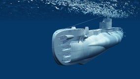 Submarine royalty free illustration