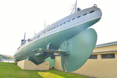 Submarine D-2 Narodovolets. Stock Image