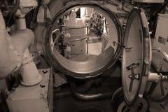Submarine doorway Royalty Free Stock Image