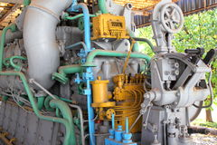 Submarine engine Royalty Free Stock Photo