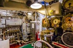 Submarine engine entrance Stock Images