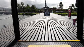 Submarine exit stairs. HONOLULU, OAHU, HAWAII, USA - AUGUST 21, 2016: exit stairs from torpedo room to the deck of USS Bowfin Submarine SS-287 at Pearl Harbor, a stock video