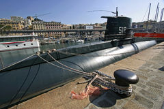 Submarine Genoa Royalty Free Stock Photo