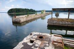 Submarine Harbor Royalty Free Stock Image