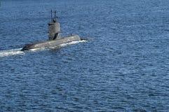 Submarine HMS Västergötland Royalty Free Stock Photos