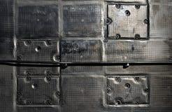 Submarine hull panels Stock Photography