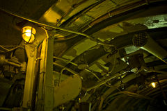 Submarine interior Stock Image