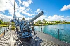 Submarine machine gun Stock Images