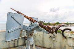 Submarine machine gun Royalty Free Stock Image