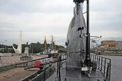 Submarine museum in Kaliningrad, Russia Royalty Free Stock Photo